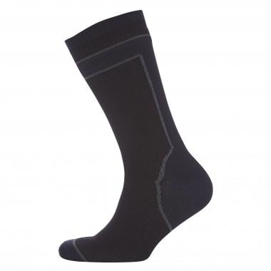 Meias SEALSKINZ MID WEIGHT MID LENGTH HYDROSTOP Preto