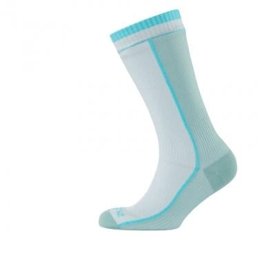 Calcetines SEALSKINZ MID WEIGHT MID LENGTH Mujer Blanco/Azul