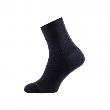 Calcetines SEALSKINZ ROAD ANKLE HYDROSTOP Negro/Gris 2017
