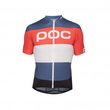Maillot POC ESSENTIAL ROAD LOGO Manches Courtes Rouge