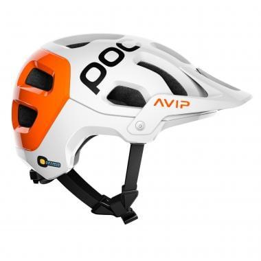 Casque VTT POC TECTAL RACE SPIN Blanc/Orange