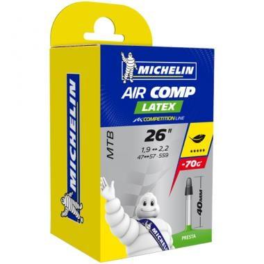 Chambre à Air MICHELIN AIRCOMP LATEX C4 26x1,90/2,20 Presta 40 mm