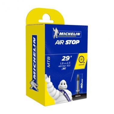 Chambre à Air MICHELIN AIRSTOP A4 29x1,90/2,50 Butyl Presta 40 mm