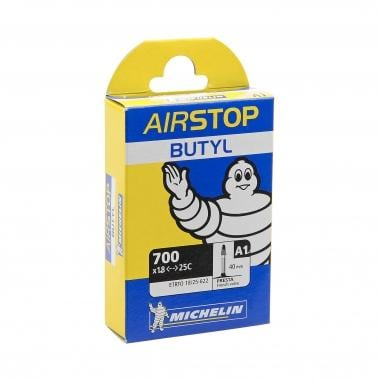 Chambre à Air MICHELIN A1 AIRSTOP BUTYL 700x18/25c Presta 40 mm