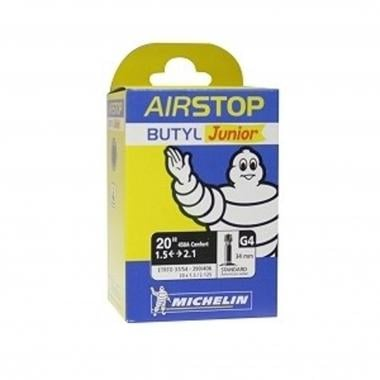 "Chambre à Air MICHELIN G4 AIRSTOP Butyl 20""- 450A Confort Schrader 34 mm"