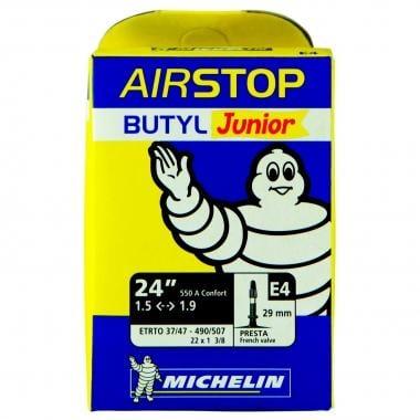 Chambre à Air MICHELIN E4 AIRSTOP Butyl 24x1,50/1,90 Presta 29 mm