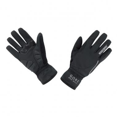 Guantes GORE BIKE WEAR POWER WINDSTOPPER Mujer Negro