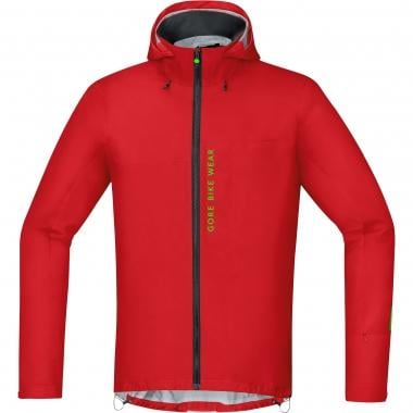Giacca GORE BIKE WEAR POWER TRAIL GORE-TEX ACTIVE Rosso