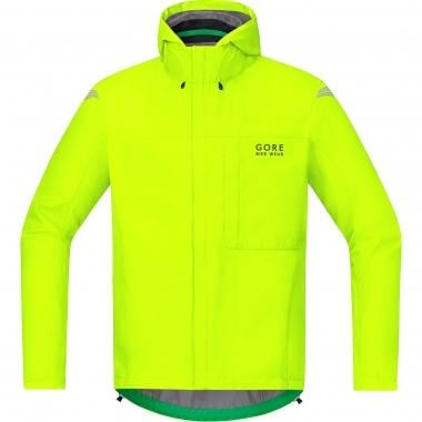 Giacca GORE BIKE WEAR ELEMENT GORE-TEX PACLITE Giallo Fluo