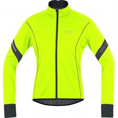 Casaco GORE BIKE WEAR POWER 2.0 WINDSTOPPER SOFT SHELL Amarelo/Preto