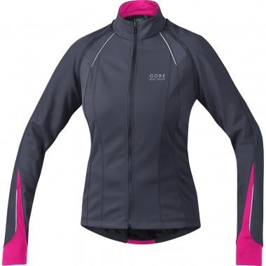 Chaqueta GORE BIKE WEAR PHANTOM 2.0 WINDSTOPPER SOFT SHELL Mujer Gris/Morado