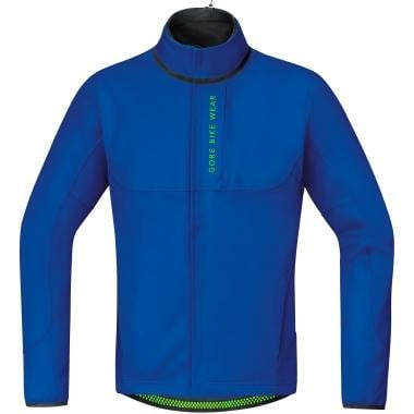 Giacca GORE BIKE WEAR POWER TRAIL WINDSTOPPER SOFT SHELL THERMO Blu