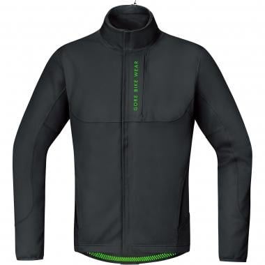 Veste GORE BIKE WEAR POWER TRAIL WINDSTOPPER SOFT SHELL THERMO Noir