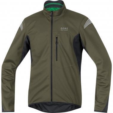 GORE BIKE WEAR ELEMENT WINDSTOPPER SOFT SHELL Jacket Khaki/Black