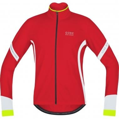 Maillot GORE BIKE WEAR POWER 2.0 THERMO Manches Longues Rouge/Blanc