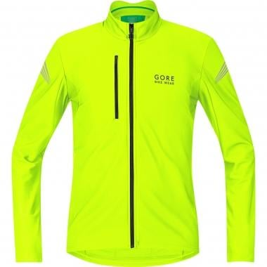 Maillot GORE BIKE WEAR ELEMENT THERMO Manches Longues Jaune Fluo