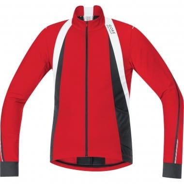Maillot GORE BIKE WEAR OXYGEN THERMO Manches Longues Rouge/Noir