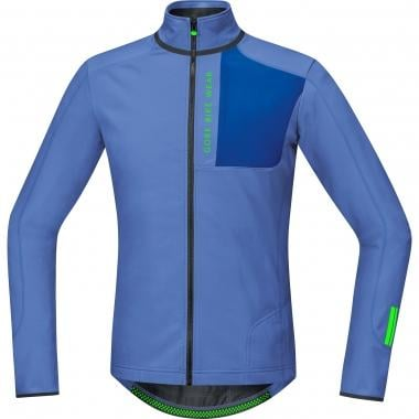 Maillot GORE BIKE WEAR POWER TRAIL THERMO Mangas largas Azul