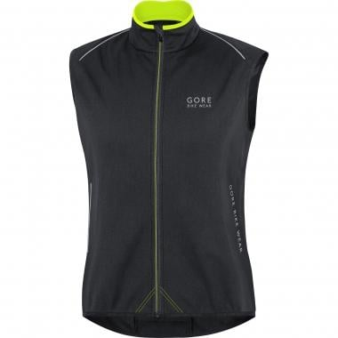 Colete GORE BIKE WEAR POWER THERMO WINDSTOPPER SOFT SHELL Preto