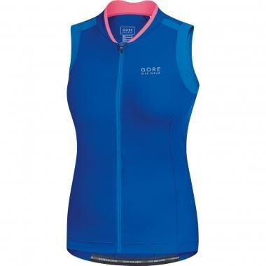 Maillot GORE BIKE WEAR POWER 3.0 Femme Sans Manche Bleu