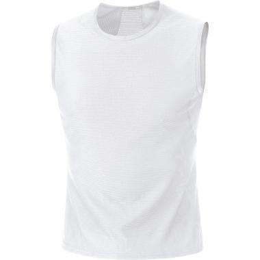 T-Shirt GORE BIKE WEAR POLYVALENT Sans Manche Blanc