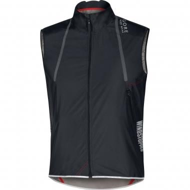Gilet GORE BIKE WEAR OXYGEN WINDSTOPPER ACTIVE SHELL LIGHT Noir