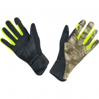 Gants GORE BIKE WEAR ELEMENT URBAN PRINT WINDSTOPPER Camo/Noir