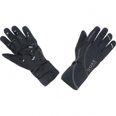 Guantes GORE BIKE WEAR MTB WINDSTOPPER THERMO Mujer Negro