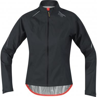 Chaqueta GORE BIKE WEAR POWER GORE-TEX ACTIVE Mujer Negro/Naranja