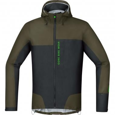 Veste GORE BIKE WEAR POWER TRAIL GORE-TEX ACTIVE Kaki/Noir
