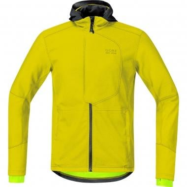 Casaco GORE BIKE WEAR ELEMENT URBAN WINDSTOPPER SOFT SHELL Amarelo