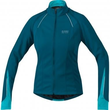 Veste GORE BIKE WEAR PHANTOM 2.0 WINDSTOPPER SOFT SHELL Femme Bleu