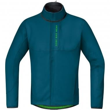 Casaco GORE BIKE WEAR POWER TRAIL WINDSTOPPER SOFT SHELL THERMO Ink Azul
