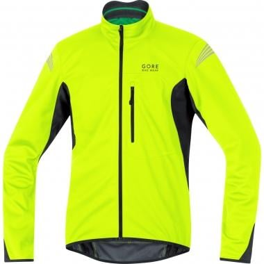Chaqueta GORE BIKE WEAR ELEMENT WINDSTOPPER SOFT SHELL Amarillo fluorescente/Negro 2016