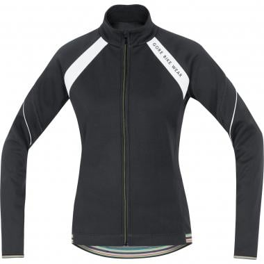Jacke GORE BIKE WEAR POWER WINDSTOPPER SOFT SHELL Damen Schwarz/Grau