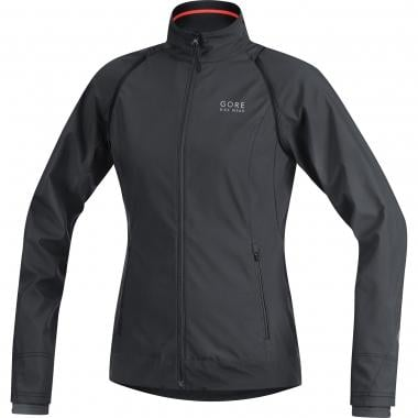 Chaqueta GORE BIKE WEAR ELEMENT WINDSTOPPER ACTIVE SHELL ZIP-OFF Mujer Negro