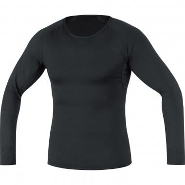 T-Shirt GORE BIKE WEAR BASE LAYER THERMO Manches Longues Noir 2016