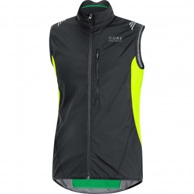 Gilet GORE BIKE WEAR ELEMENT WINDSTOPPER ACTIVE SHELL Noir/Jaune Fluo 2016
