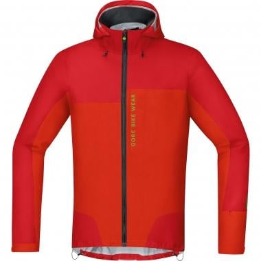 Veste GORE BIKE WEAR POWER TRAIL GORE-TEX ACTIVE Rouge/Orange 2017