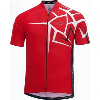 Maillot GORE BIKE WEAR ELEMENT ADRENALINE 4.0 Manches Courtes Rouge 2017