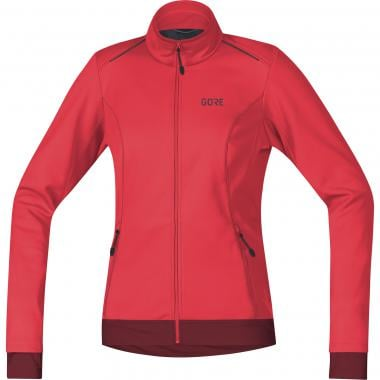 Veste GORE WEAR C3 WINDSTOPPER THERMO Femme Rose