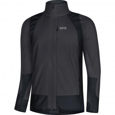 Veste GORE WEAR C5 PARTIAL WINDSTOPPER THERMIQUE Gris/Noir