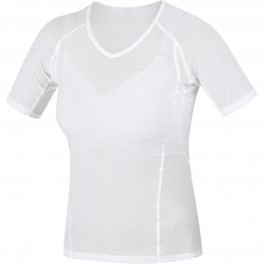Sous-Vêtement Technique GORE WEAR POLYVALENT Femme Manches Courtes Blanc