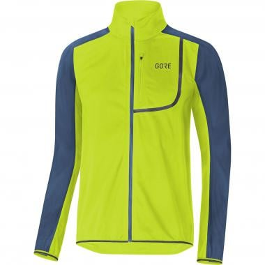 Veste GORE WEAR C3 WINDSTOPPER Jaune/Bleu 2019