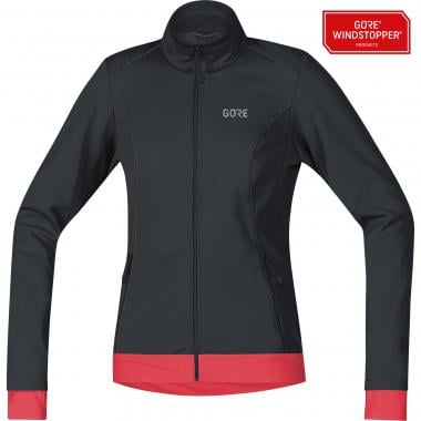 Veste GORE WEAR C3 WINDSTOPPER® THERMO Femme Noir/Rose 2019