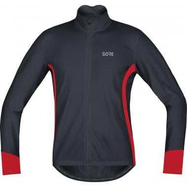 Maillot GORE WEAR C5 THERMO Manches Longues Noir/Rouge