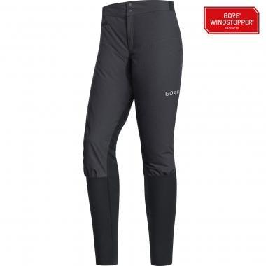 Pantalon GORE WEAR C5 TRAIL WINDSTOPPER 2IN1 Femme Gris/Noir 2019