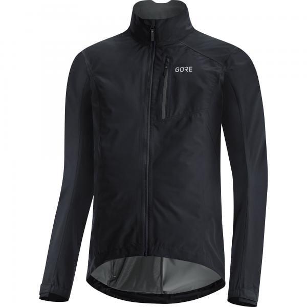 Black Gore Wear C3 Gore-Tex Paclite Jacket