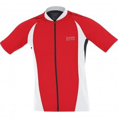 GORE BIKE WEAR POWER Short-Sleeved Jersey Red/Black