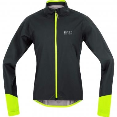 Giacca GORE BIKE WEAR POWER GORE-TEX ACTIVE Nero/Giallo Fluo